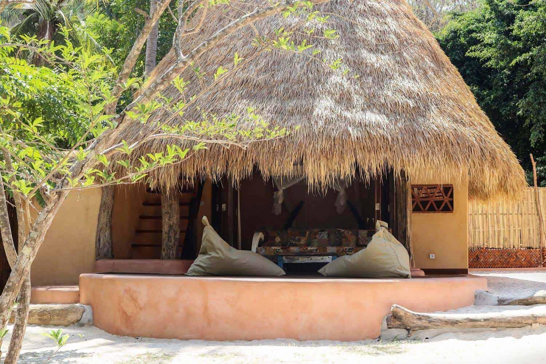 hotel lombok cottage plage