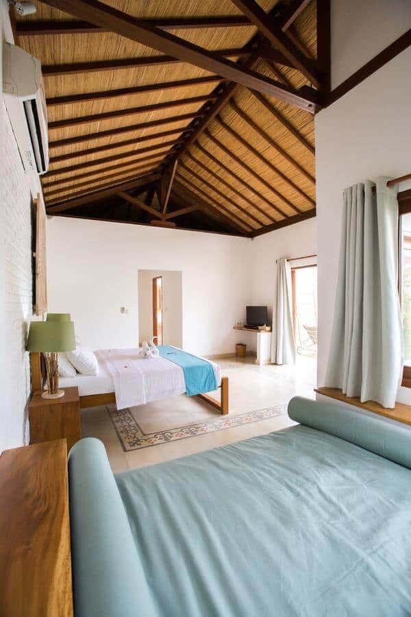 hotel lombok gili trawangan pisicne privative chambre