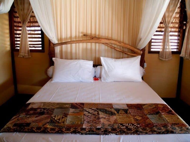 hotel lombok ile plage lit
