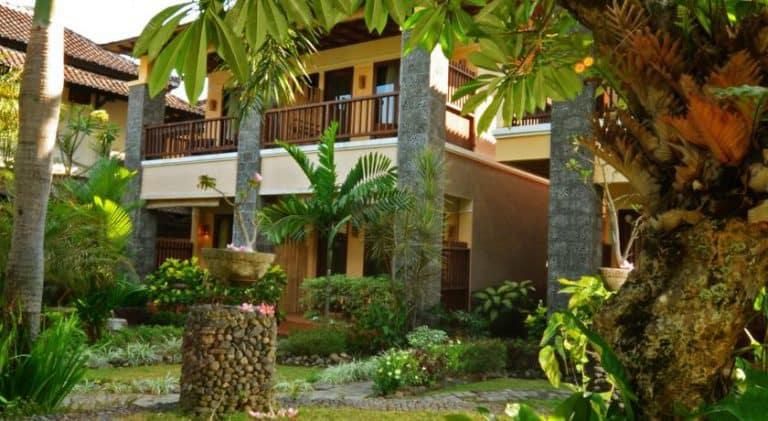 hotel lombok indonésie batiment