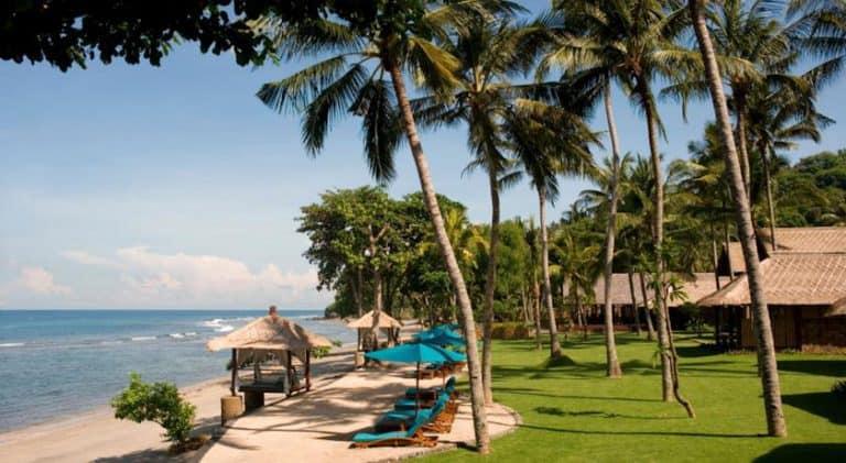 hotel lombok indonésie bord de mer