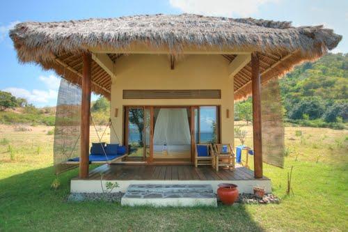 hotel lombok indonésie bungalow