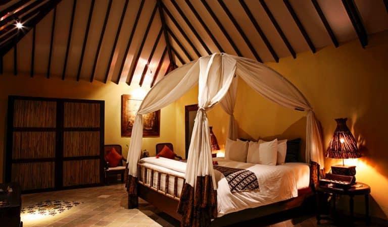 hotel lombok indonésie chambre double