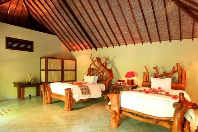 hotel lombok indonésie chambre famille