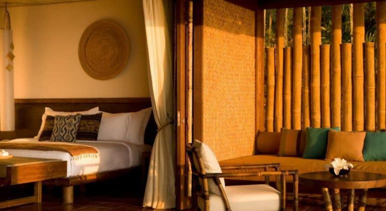 hotel lombok indonésie chambre