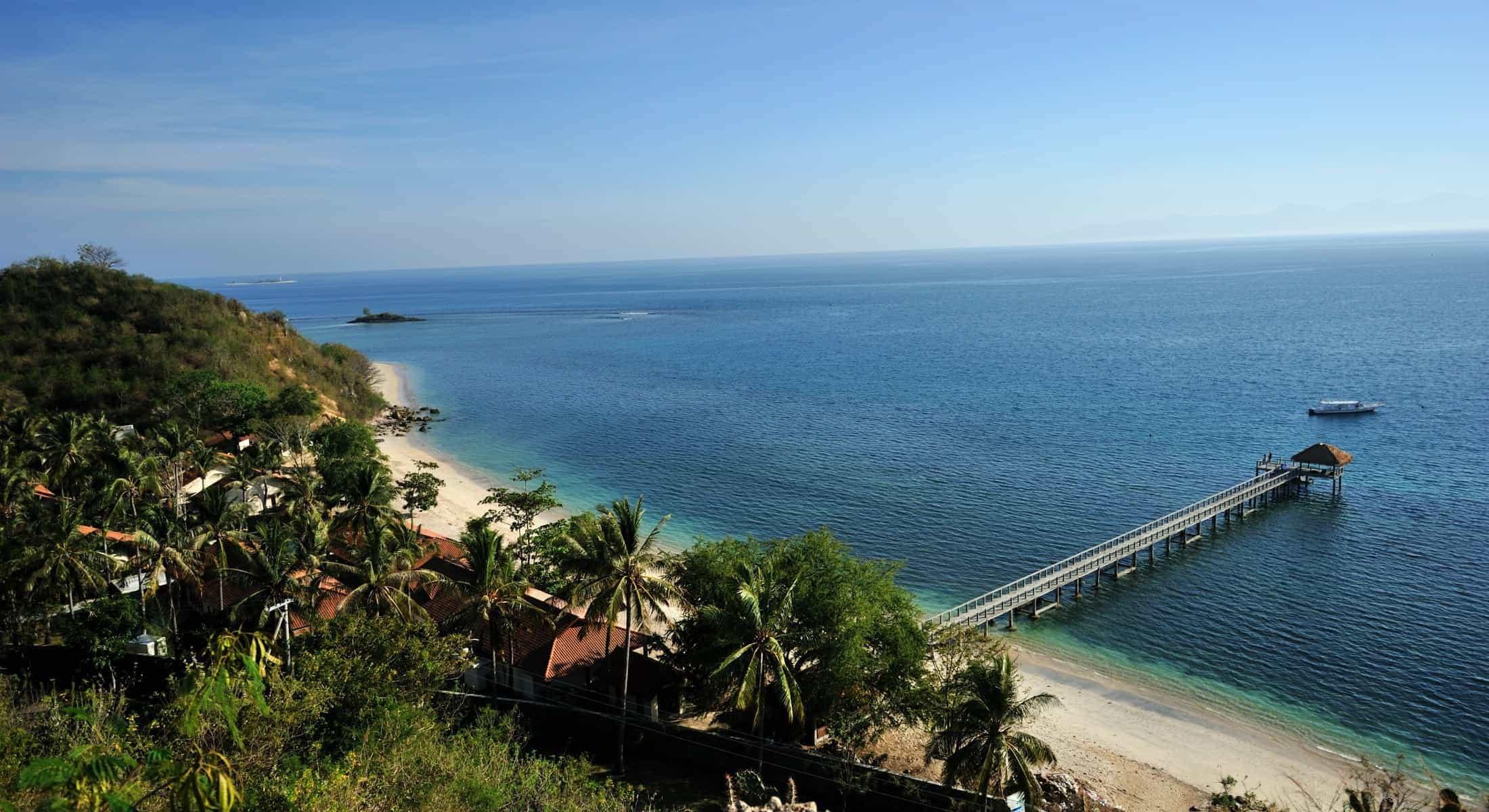 hotel lombok indonésie panorama