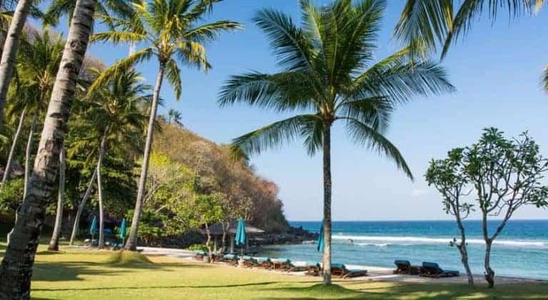 hotel lombok indonésie parc