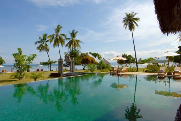 hotel lombok indonésie piscine panorama