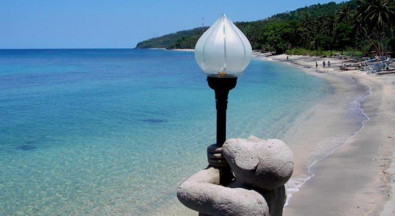 hotel lombok indonésie plage