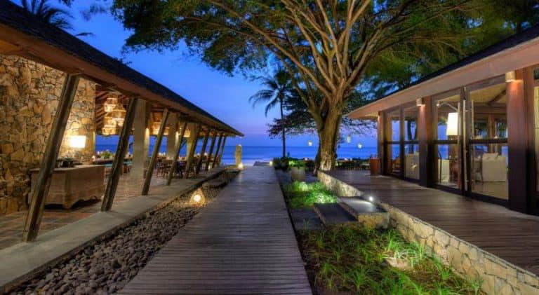hotel lombok indonésie restaurant