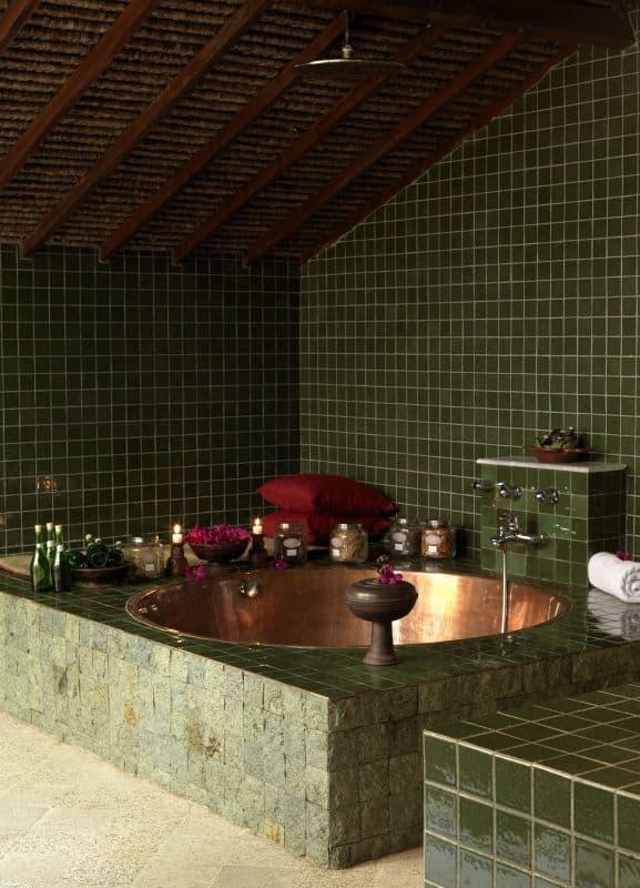 hotel lombok indonésie salle de bain