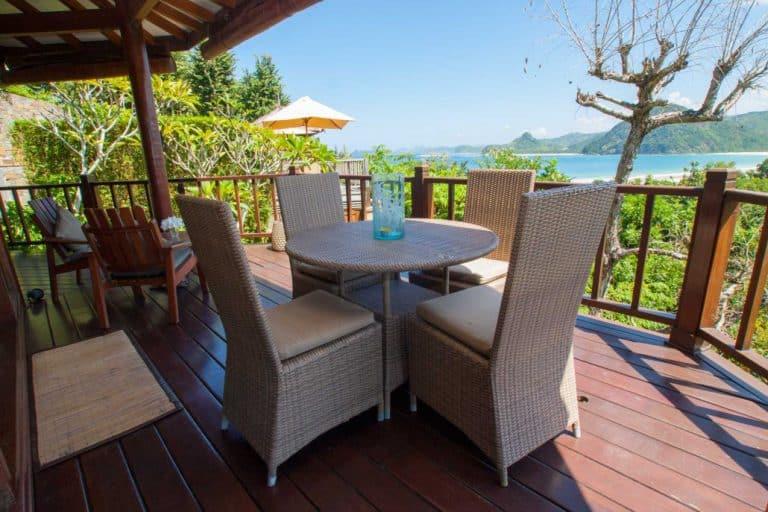 hotel lombok indonésie terrasse