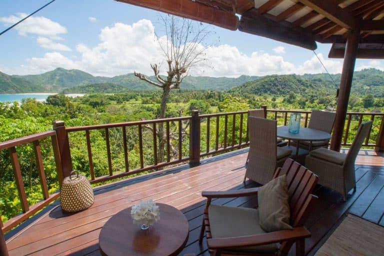 hotel lombok indonésie villa luxe