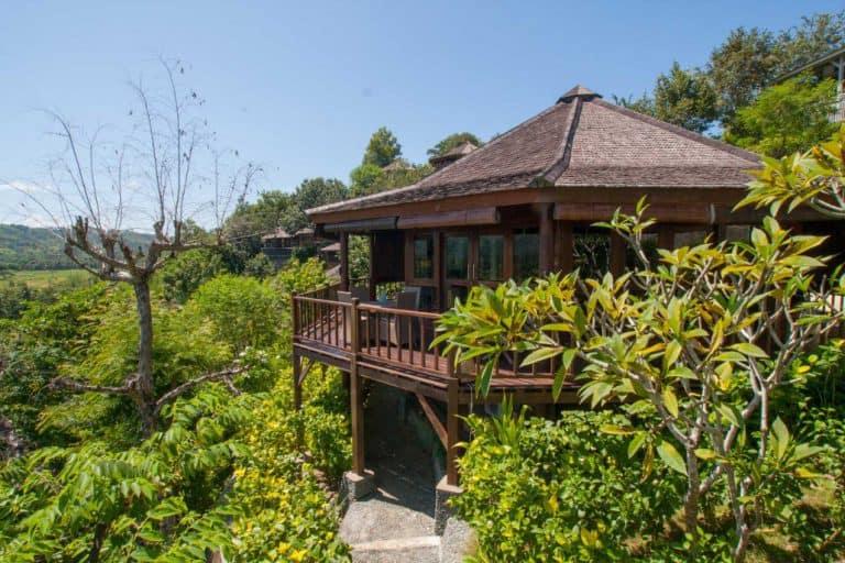 hotel lombok indonésie villa nature