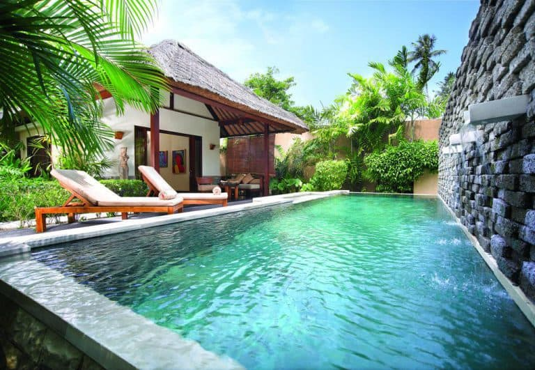 hotel lombok indonésie villa piscine