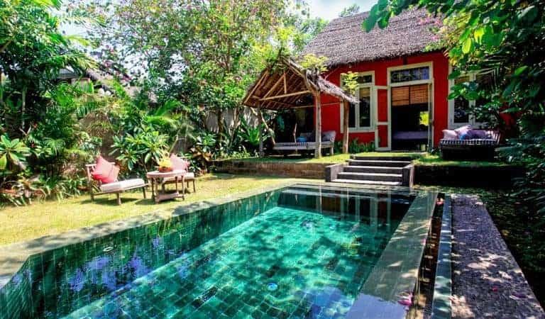 hotel lombok indonésie villa