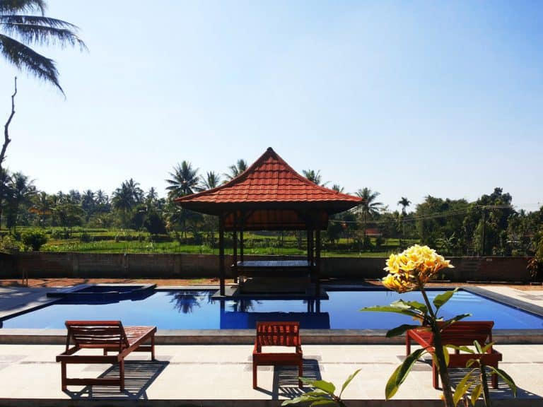 hotel lombok piscine