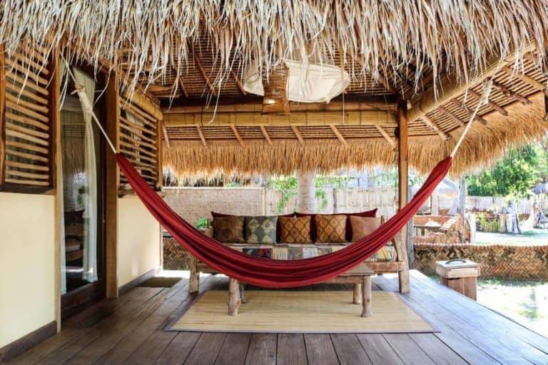 hotel lombok plage paradis terrasse