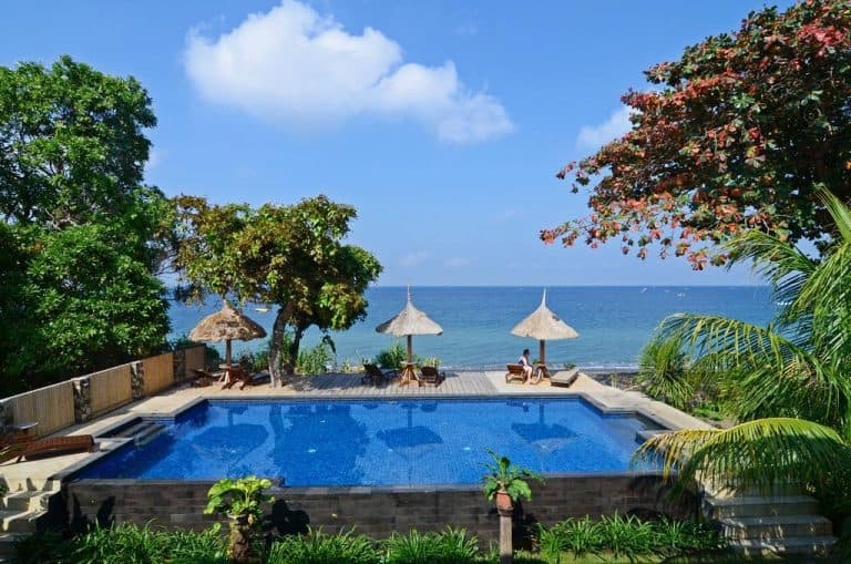 hotel Lombok Senggigi piscine