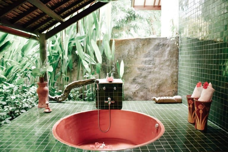 hotel Lombok Tanjung salle de bains