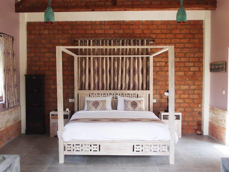 hotel lombok tetebatu chambre