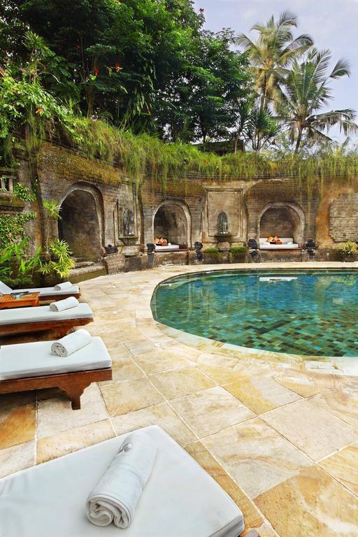 hotel luxe bali ubud piscine