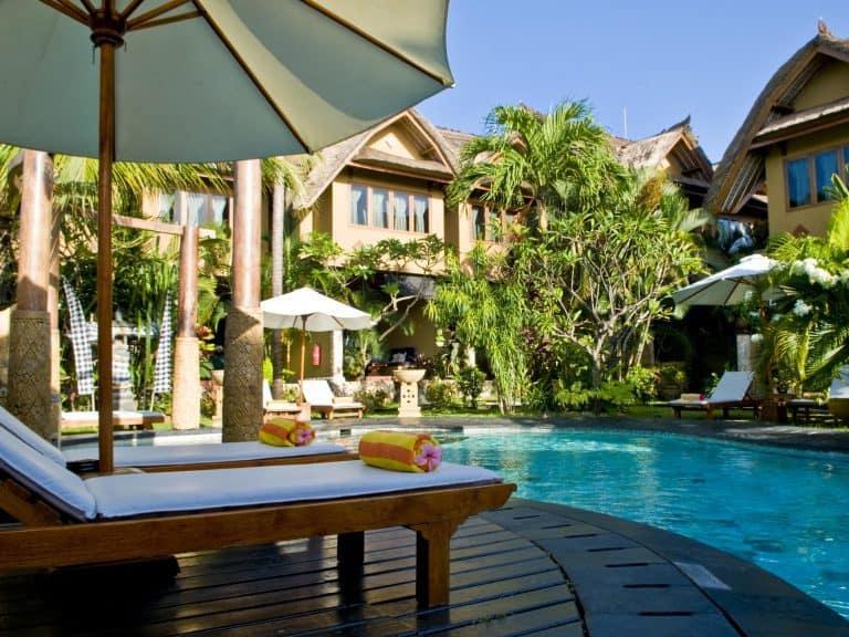 hotel bali seminyak piscine panorama
