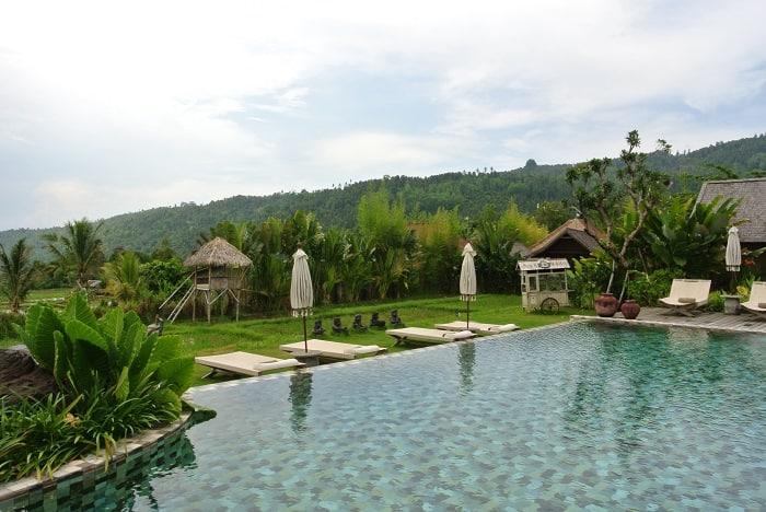 hotel nord de bali piscine