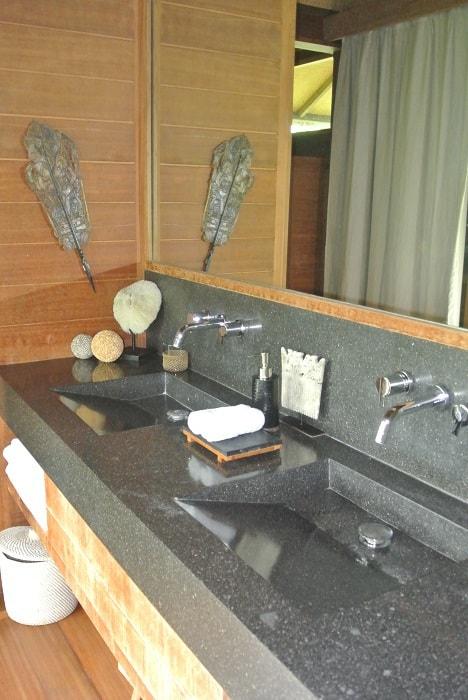 hotel nord de bali salle de bain