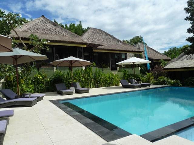 hotel nusa lembongan piscine extérieur