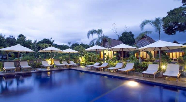 hotel nusa lembongan piscine