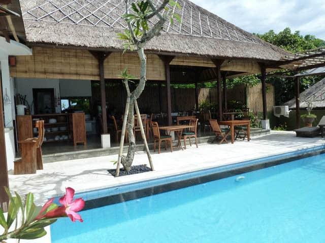 hotel nusa lembongan restaurant piscine