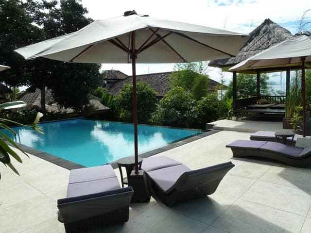 hotel nusa lembongan transat piscine