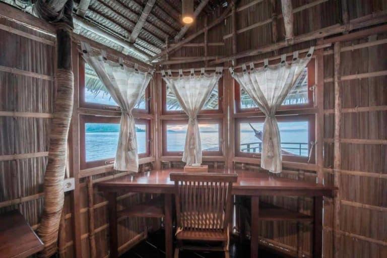 hotel papouasie charme raja ampat vue mer