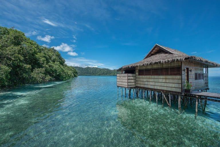 hotel papouasie raja ampat charme luxe lagune
