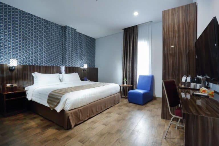hotel papouasie sentani jayapura chambre