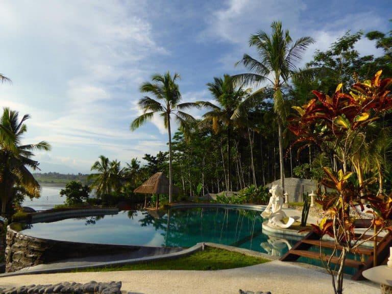 hotel pekutatan bali piscine et plage