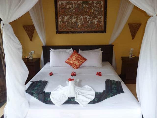 hotel pemuteran bali chambre