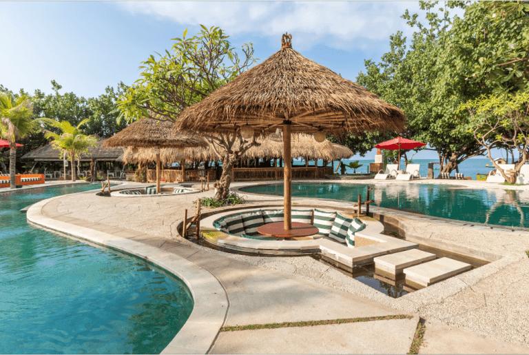hotel pemuteran bali piscine complexe hotelier