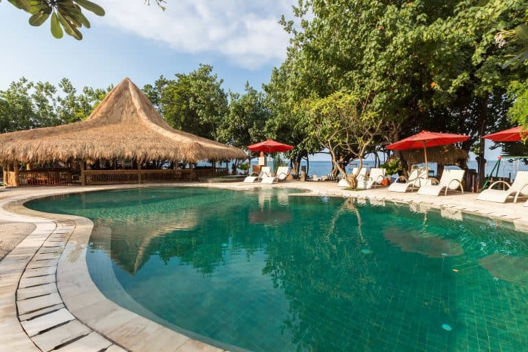 hotel pemuteran bali piscine extérieur
