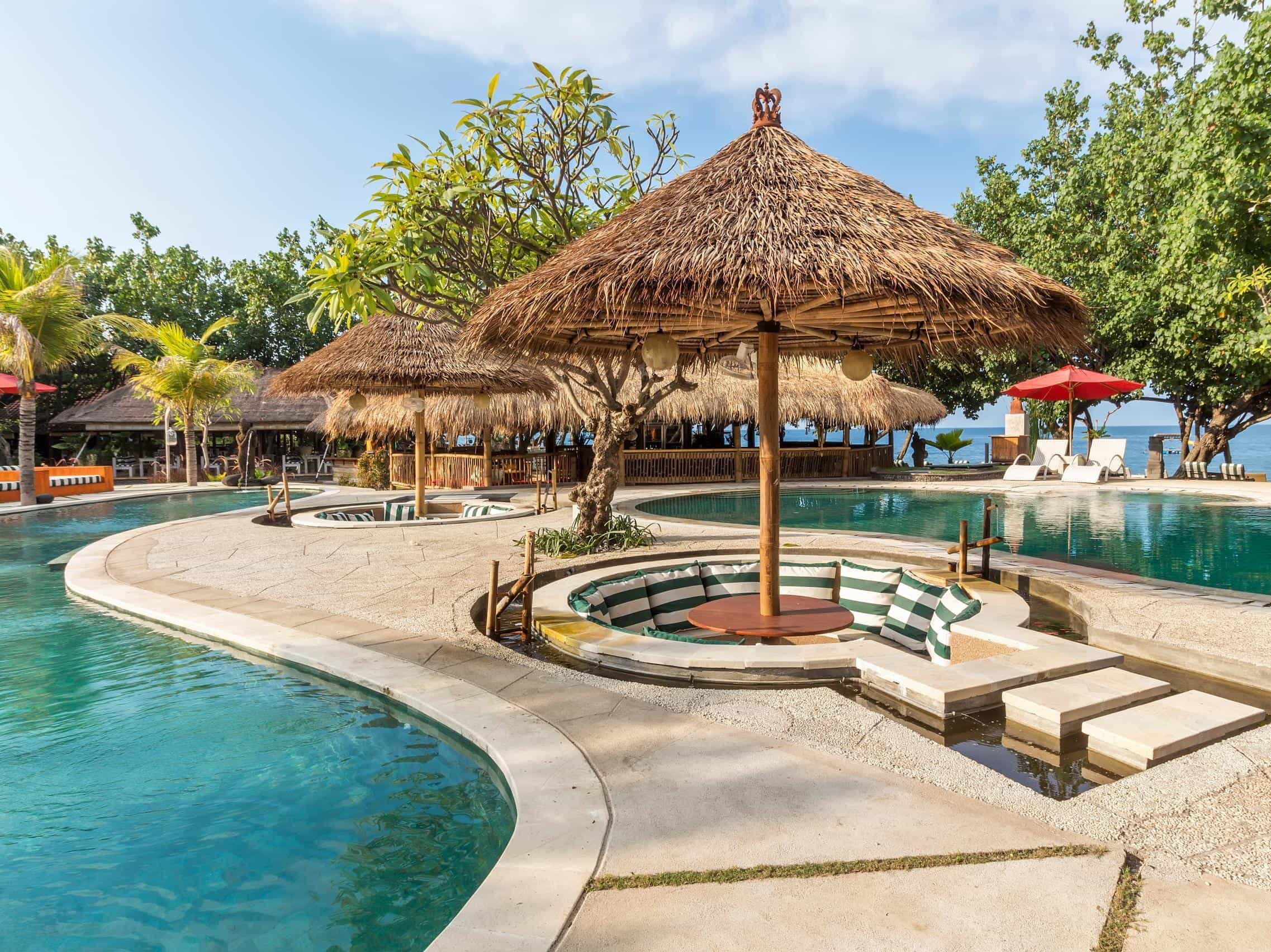 hotel pemuteran bali piscine panorama