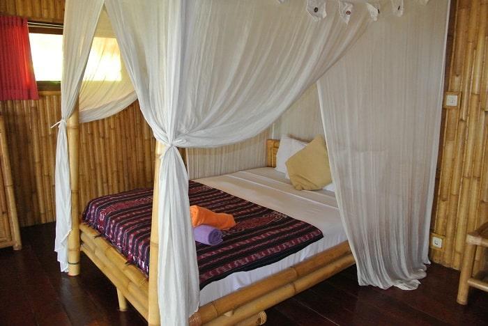 hotel rinjani lombok chambre