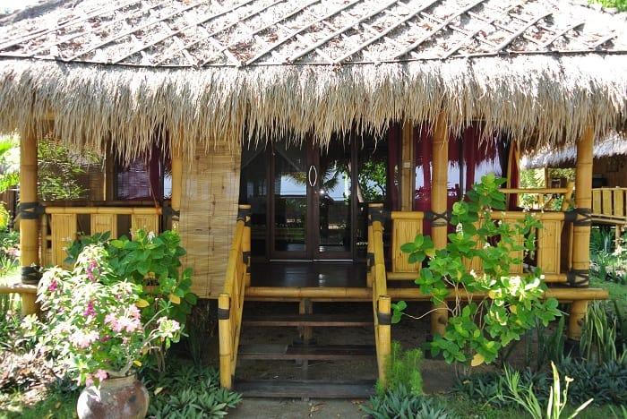 hotel rinjani lombok entrée bungalow