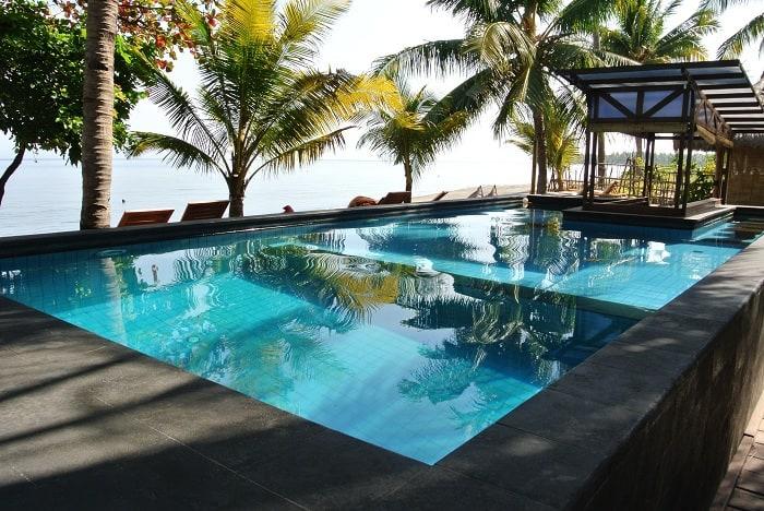 hotel rinjani lombok piscine et plage