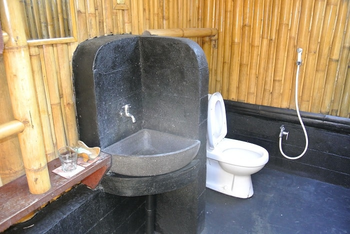 hotel rinjani lombok salle de bain