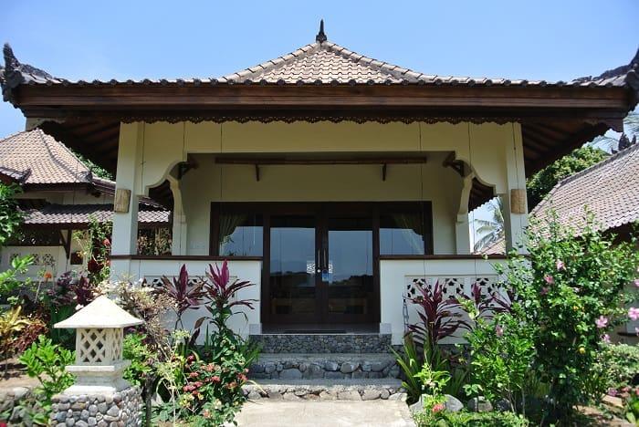 hotel senaru indonésie bungalow