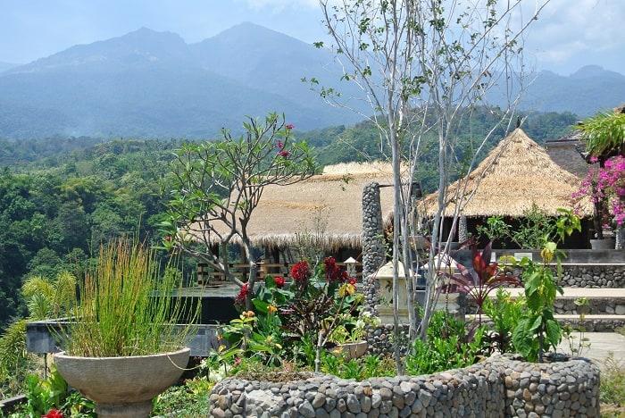 hotel senaru indonésie bungalows