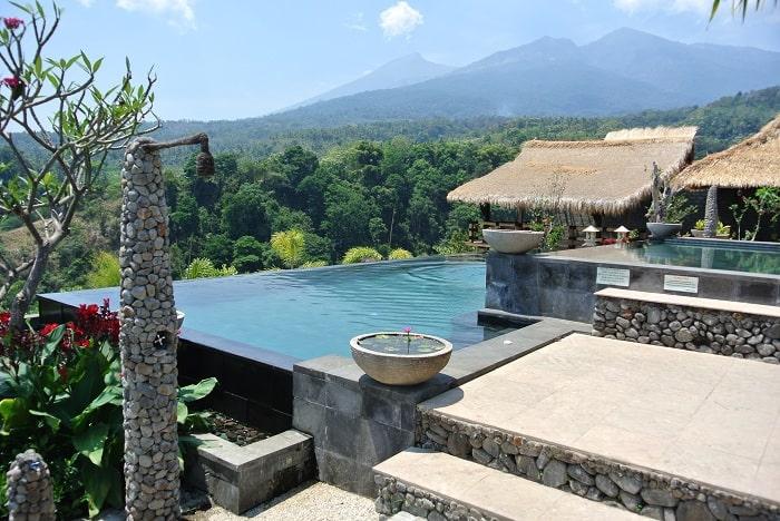 hotel senaru indonésie