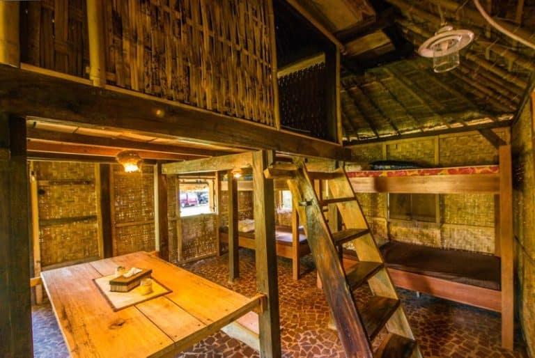 hotel senaru lombok chambre familiale