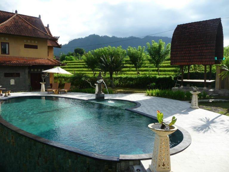 hotel sidemen bali piscine panorama